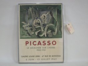 PICASSO MOURLOT POSTER