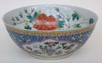 157: 19TH CENTURY CHINESE FISH BOWL