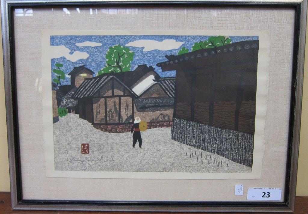 23: SAITO, KIYOSHI (JAPANESE, 1907-1992)