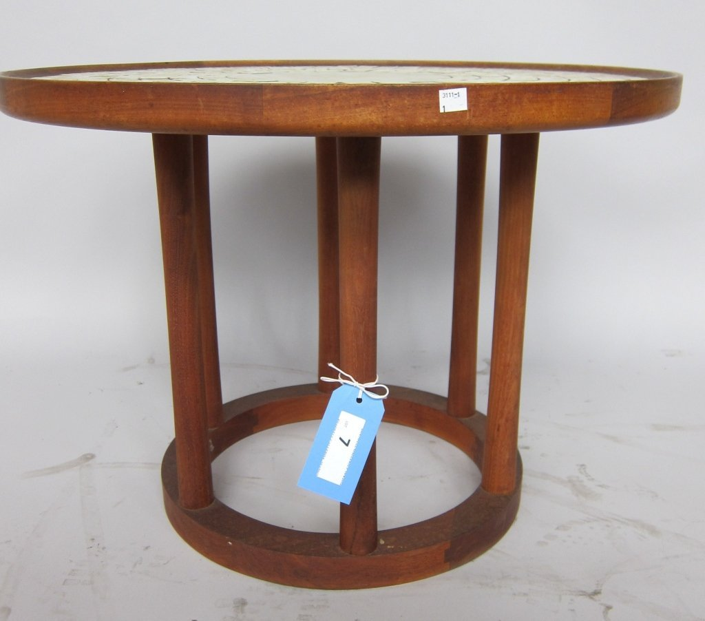 DANISH MODERN OCCASIONAL TABLE