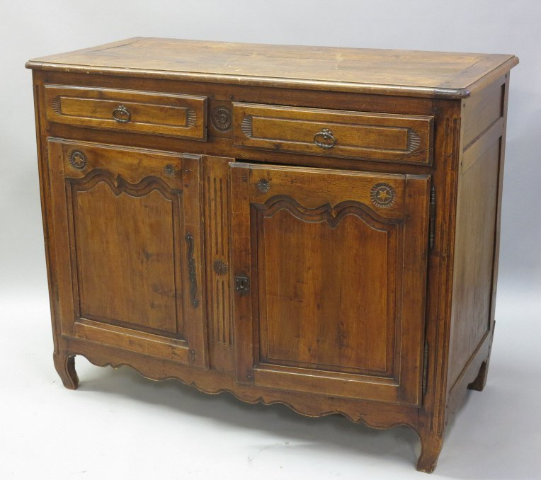 FRENCH PROVINCIAL BUFFET CABINET