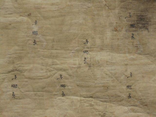Antique Thangka, Buddha & various figures - 10