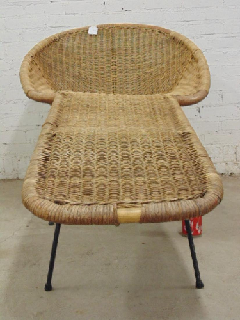 Cal-Asia wicker chaise lounge - 2