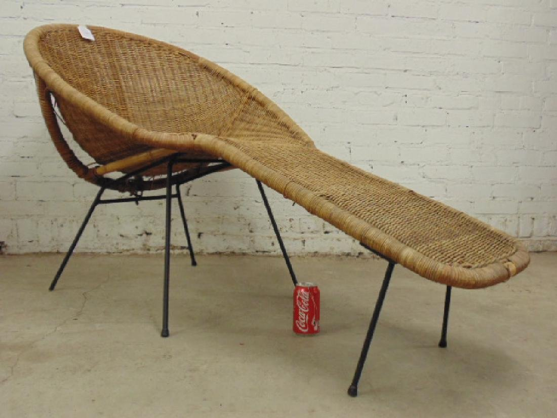 Cal-Asia wicker chaise lounge - 3
