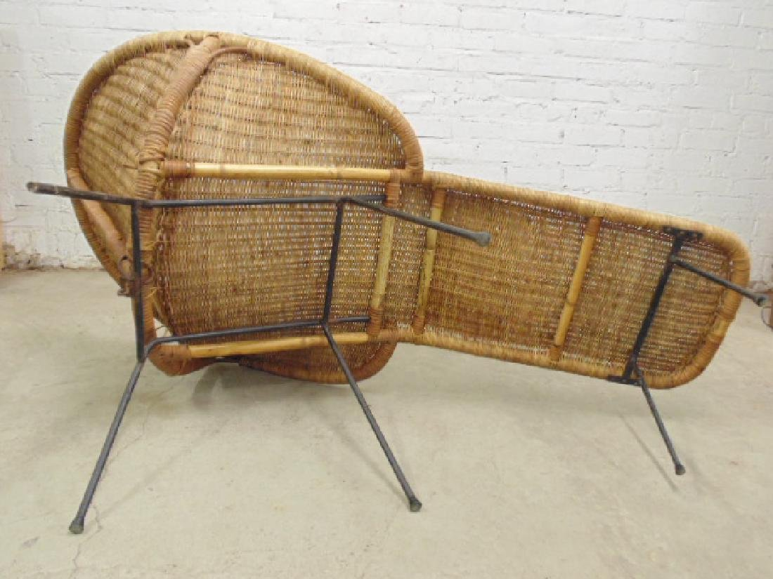 Cal-Asia wicker chaise lounge - 6