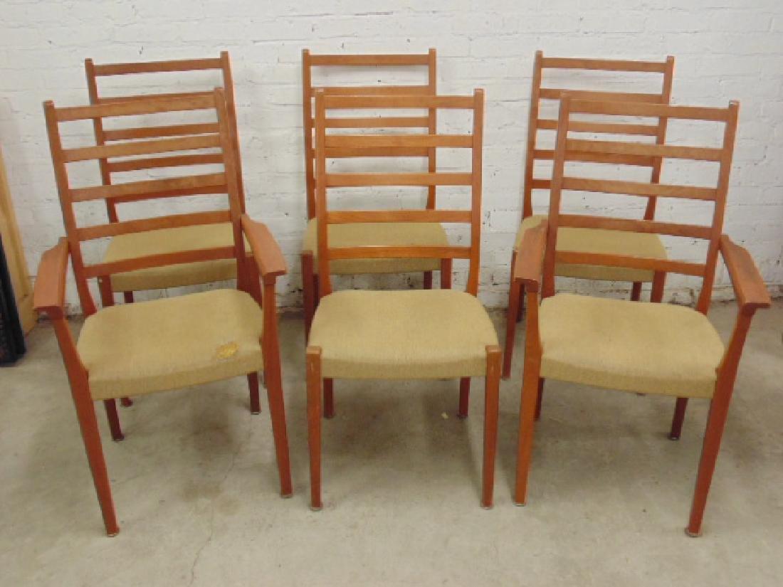 6 MCM teak chairs by Svegard Markaryd, Sweden