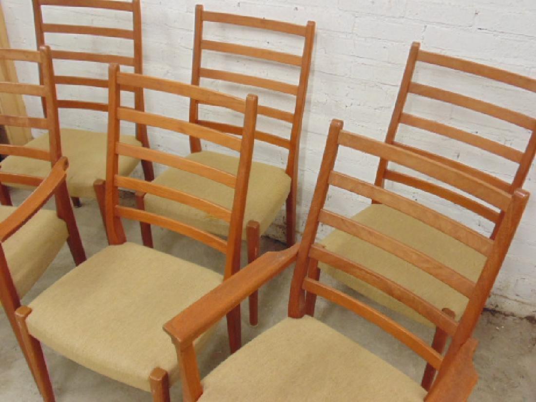 6 MCM teak chairs by Svegard Markaryd, Sweden - 2