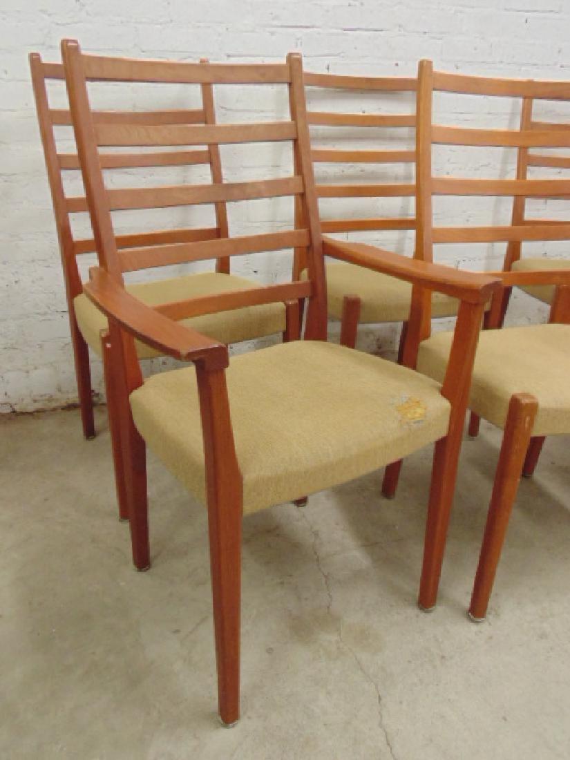 6 MCM teak chairs by Svegard Markaryd, Sweden - 3
