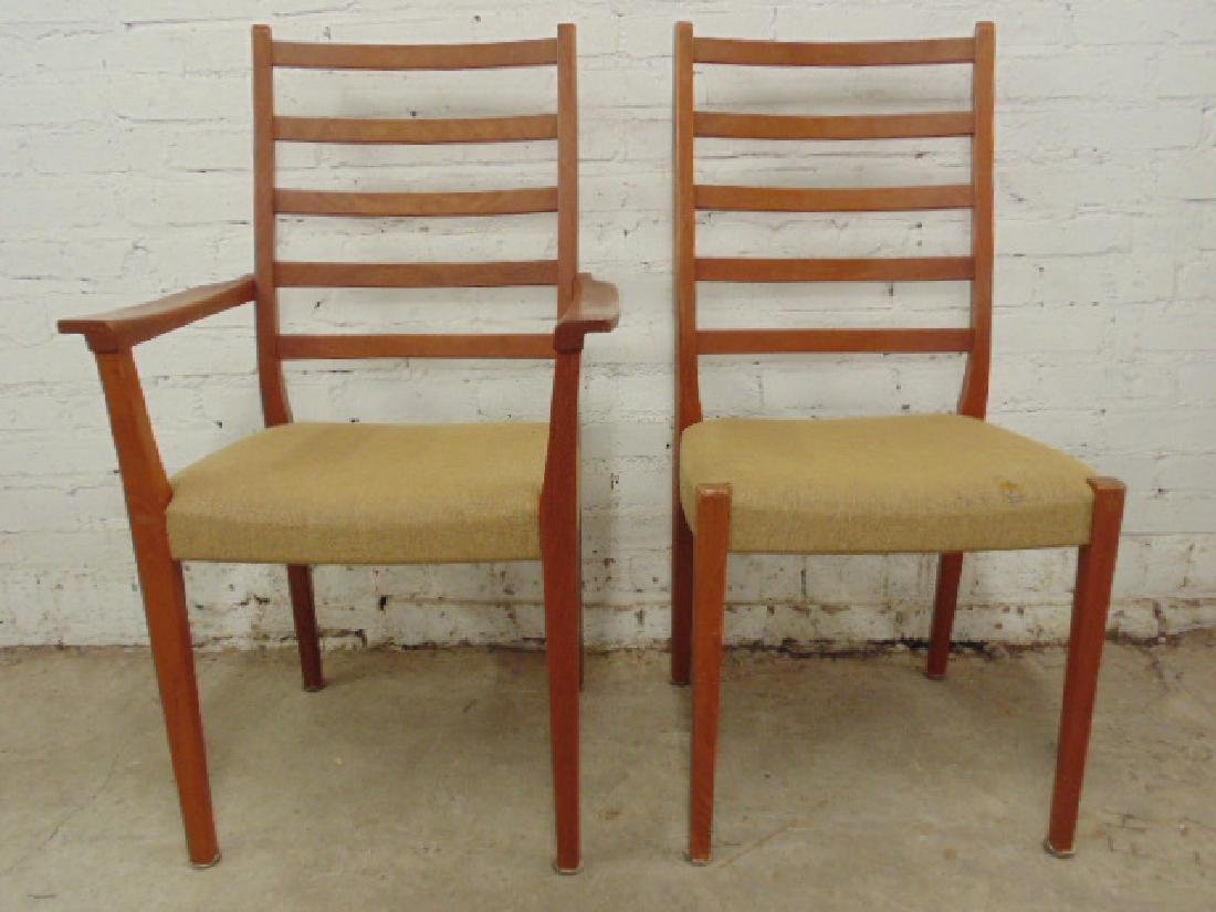 6 MCM teak chairs by Svegard Markaryd, Sweden - 4