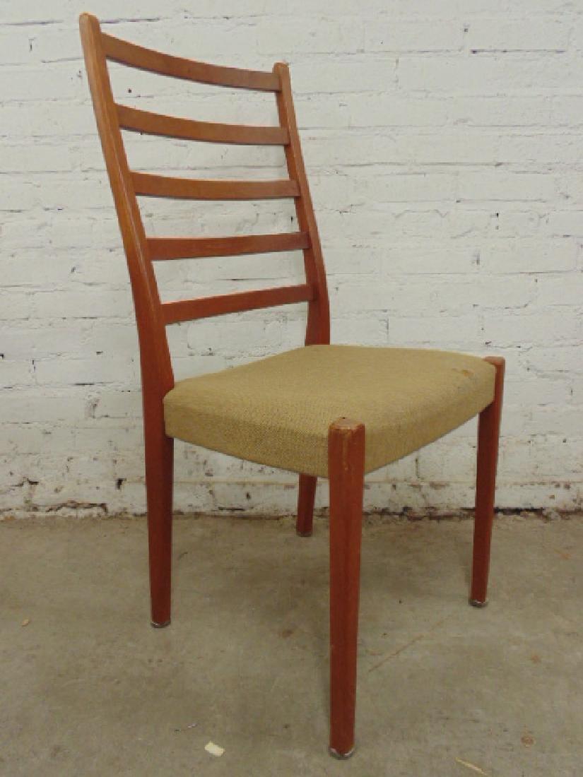 6 MCM teak chairs by Svegard Markaryd, Sweden - 5