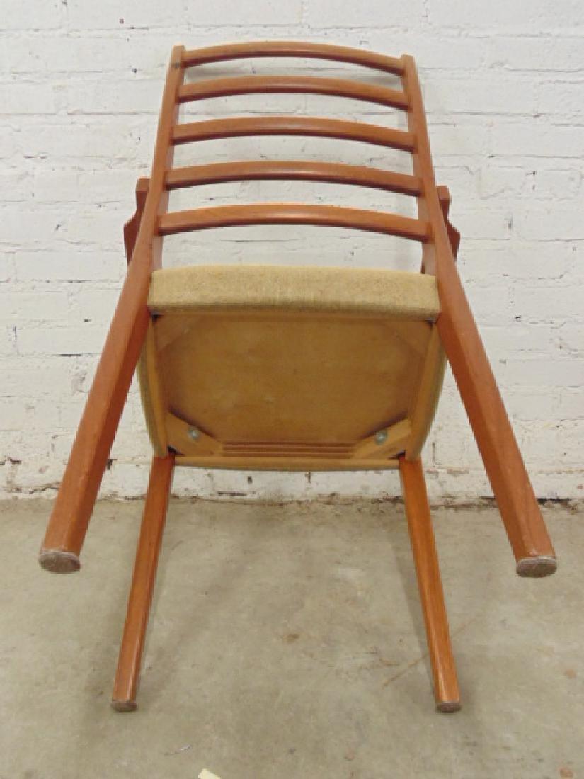 6 MCM teak chairs by Svegard Markaryd, Sweden - 7