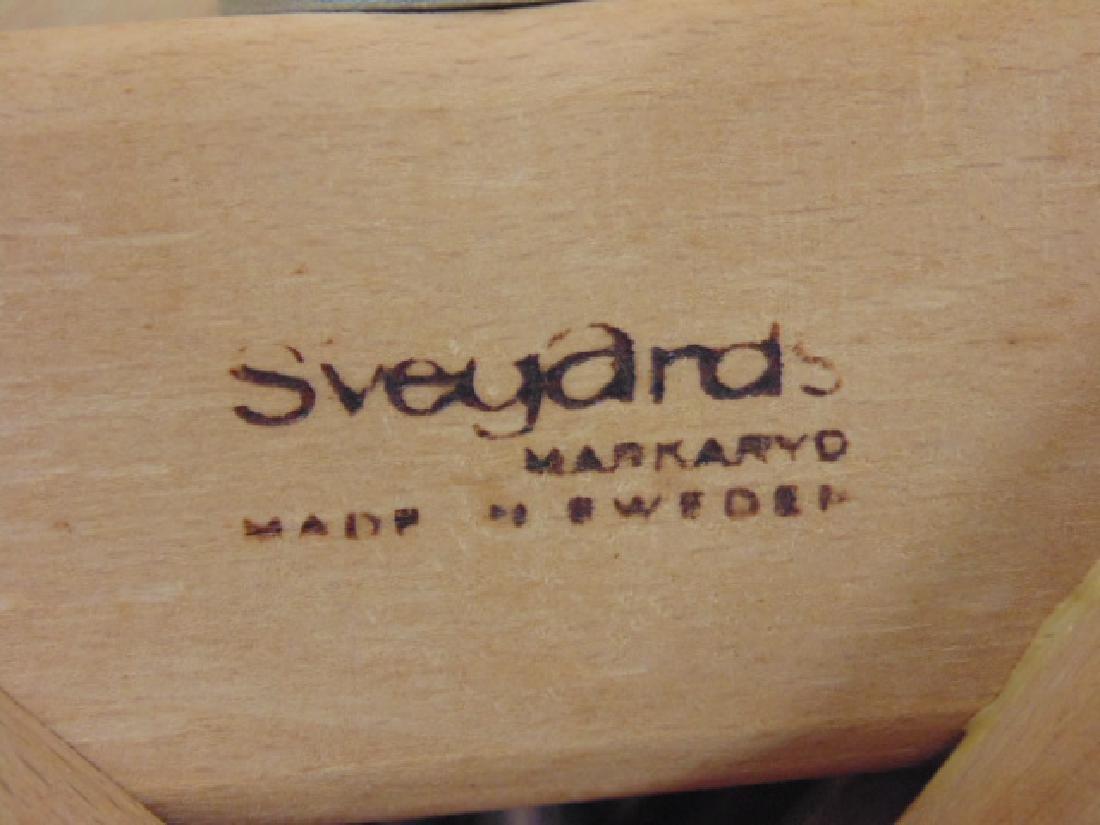 6 MCM teak chairs by Svegard Markaryd, Sweden - 8