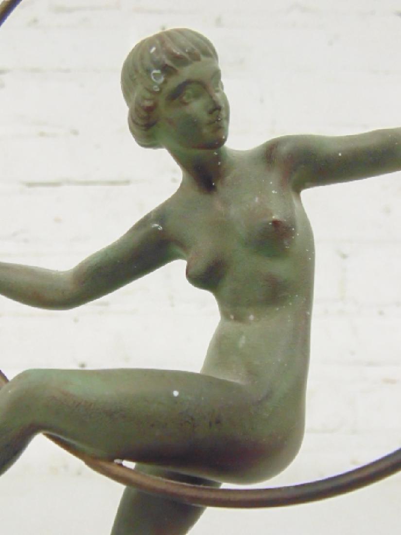 Deco figural bronze, Marcel André Bouraine - 3