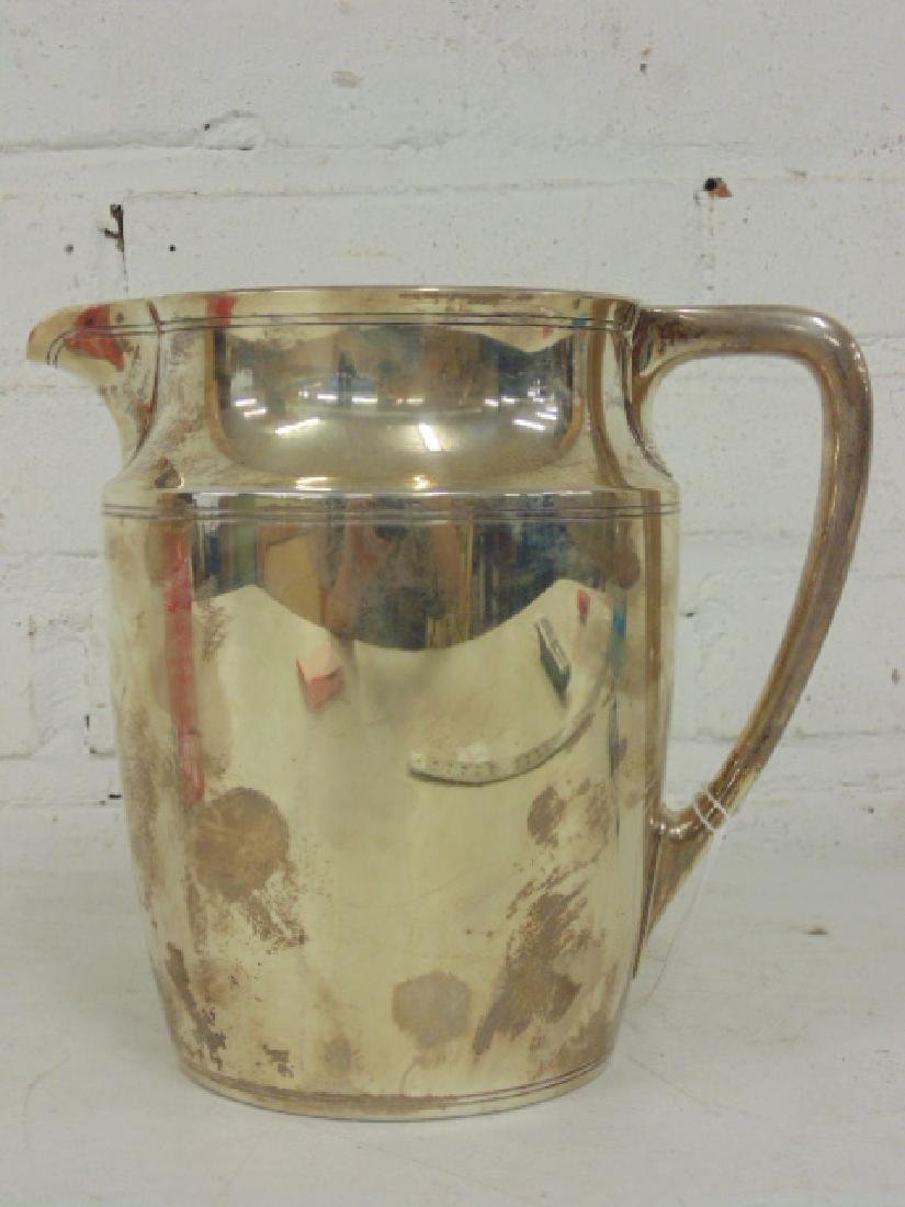Tiffany & Co Makers sterling silver water pitcher - 2