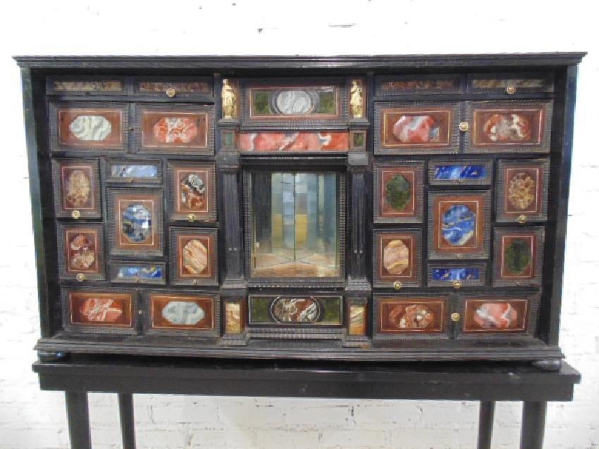 19th Century Italian inlaid multi drawer cabinet