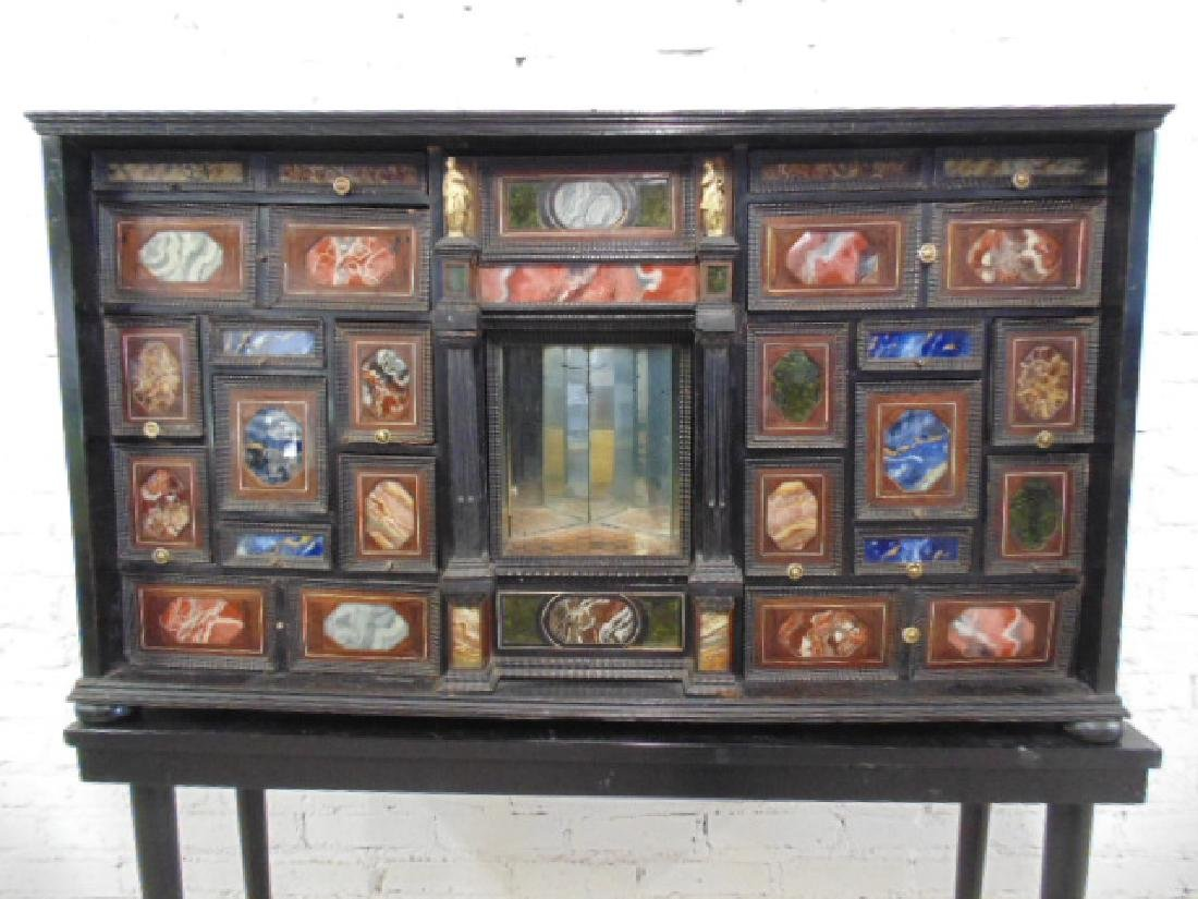 19th Century Italian inlaid multi drawer cabinet