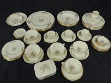 Lenox Harvest china set decorated with wheat