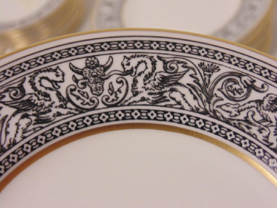 "Set of porcelain dinnerware by Wedgwood, ""Florentine"", - 6"