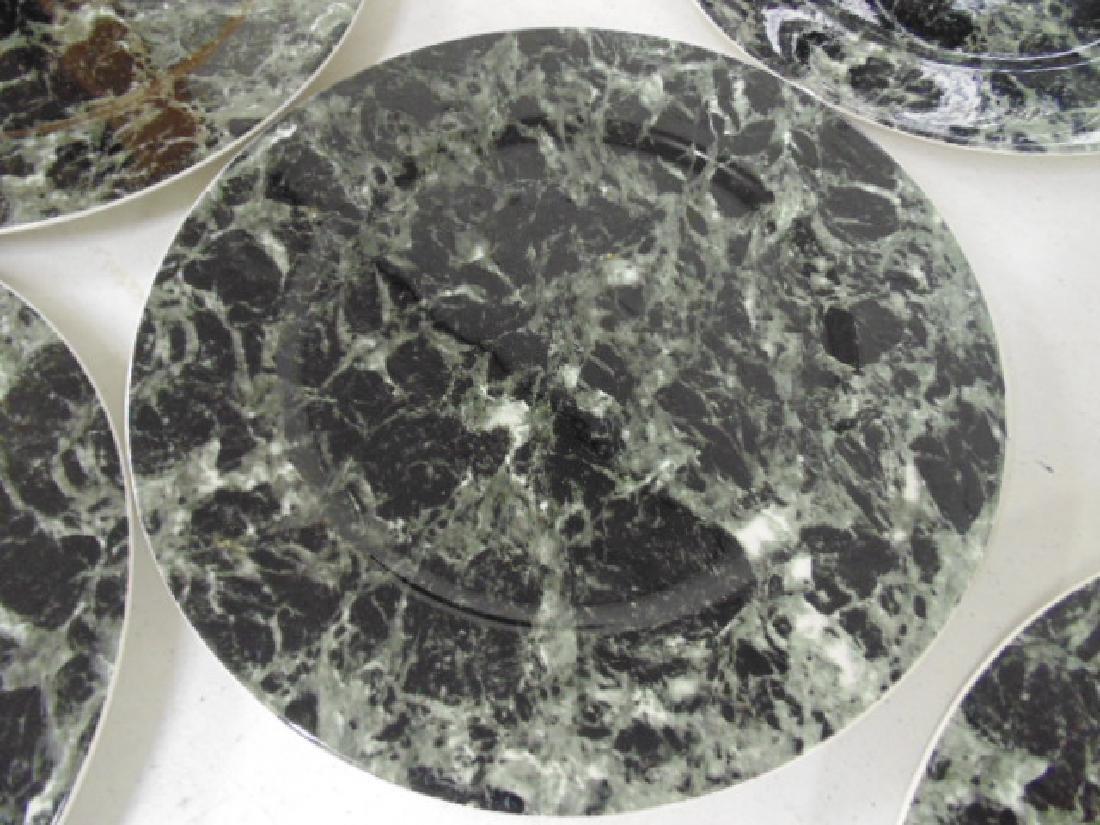 18 Villeroy & Boch dinner plates, faux marble - 4