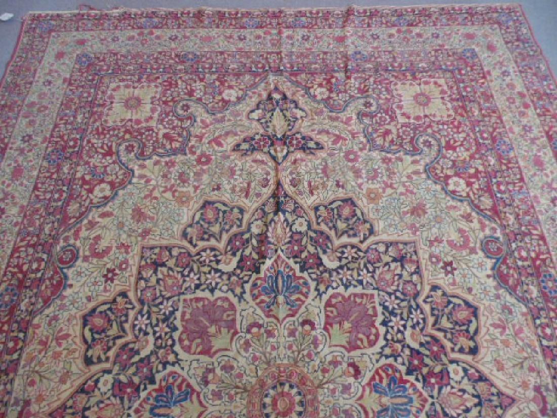 Persian room size carpet, center medallion - 2