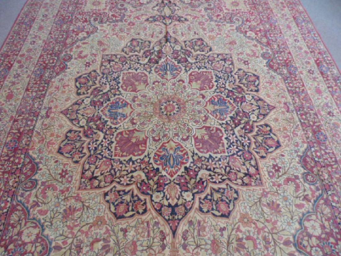 Persian room size carpet, center medallion - 3