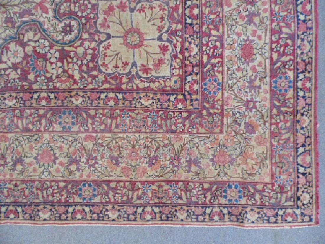 Persian room size carpet, center medallion - 5