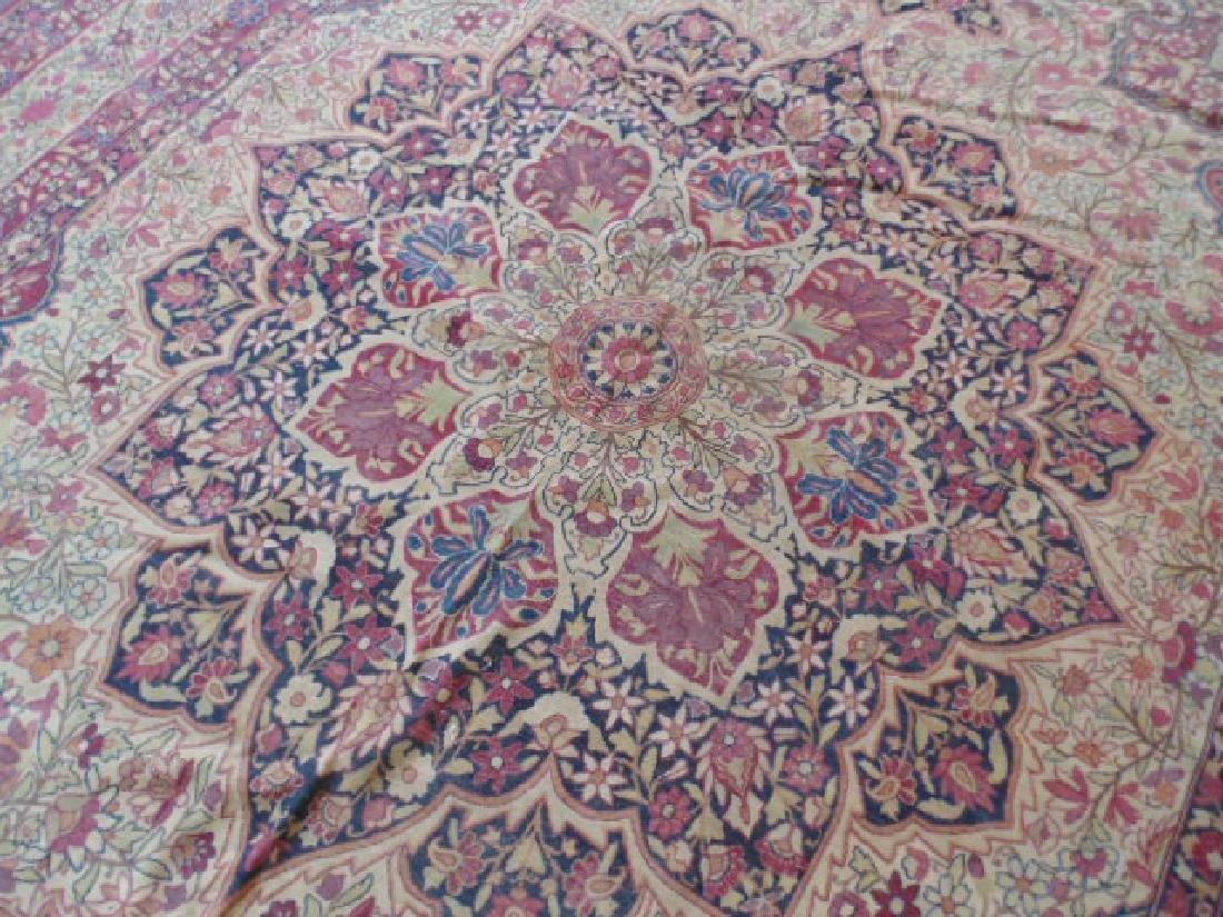 Persian room size carpet, center medallion - 6