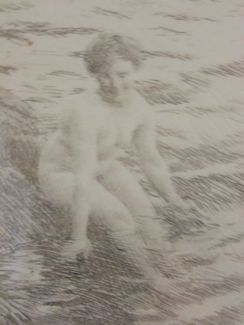 3 etchings, nudes, Anders Zorn - 7