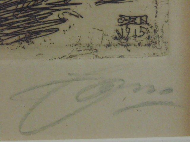 3 etchings, nudes, Anders Zorn - 8