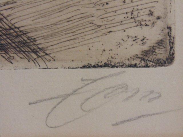 3 etchings, nudes, Anders Zorn - 9