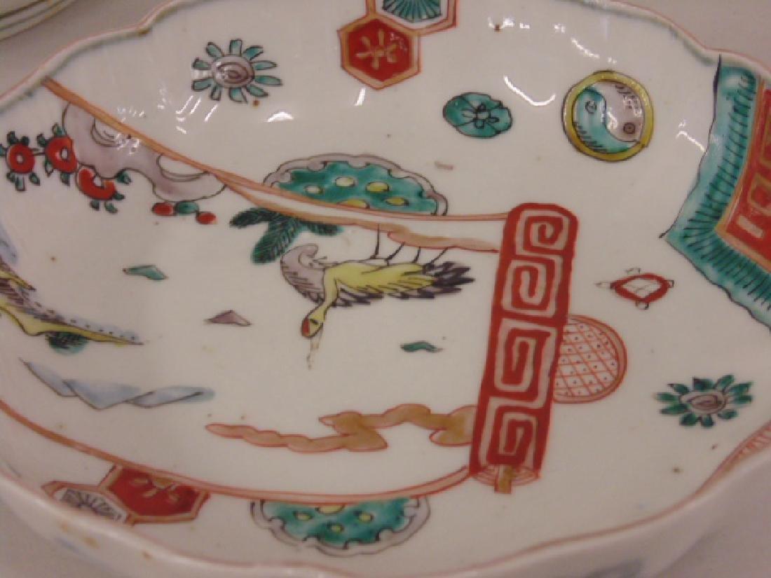 17 Chinese porcelain bowls,  birds, symbol - 4
