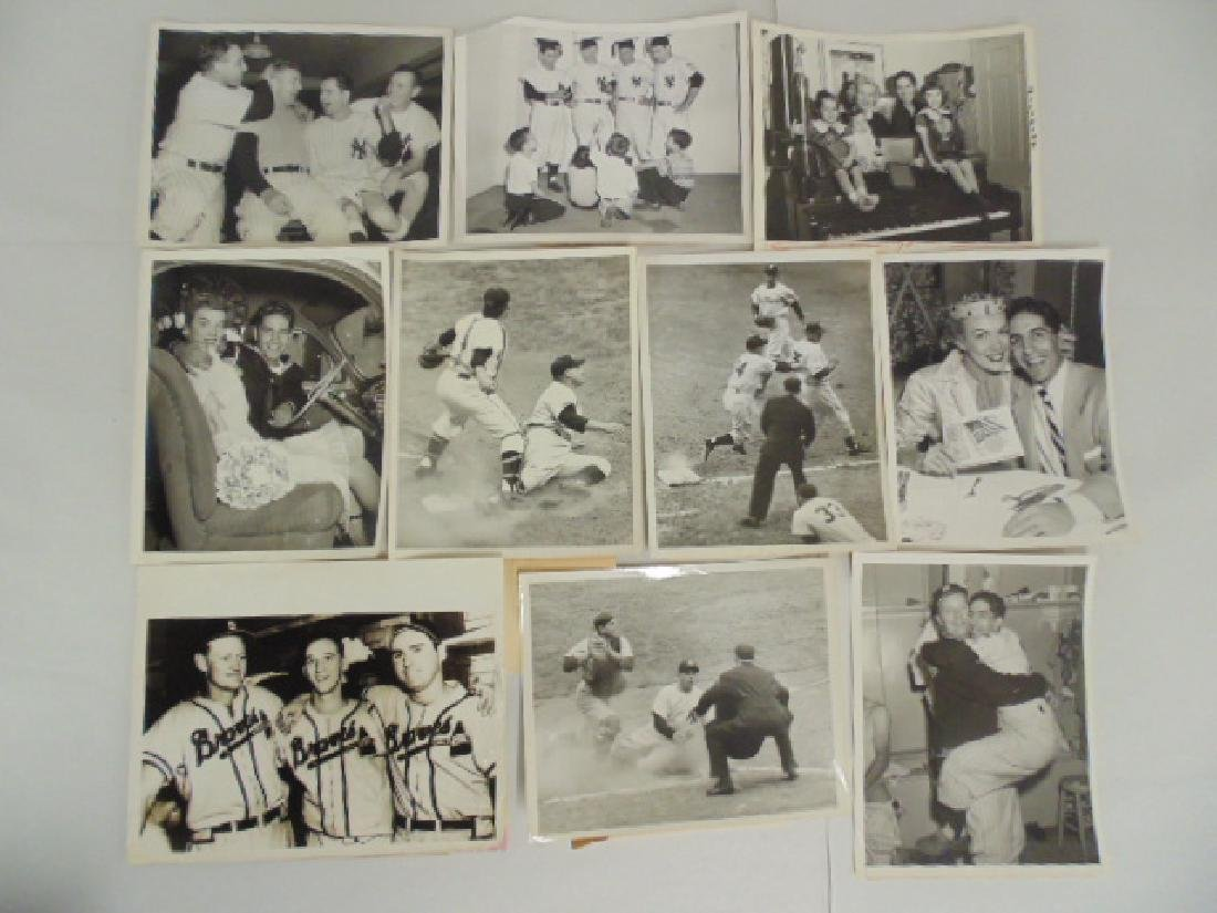 Original photos NY Yankees, Boston Braves