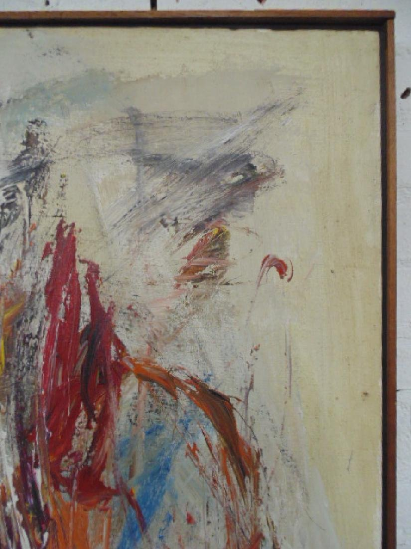 Painting, abstract in colors, signed Gino Hollander - 4