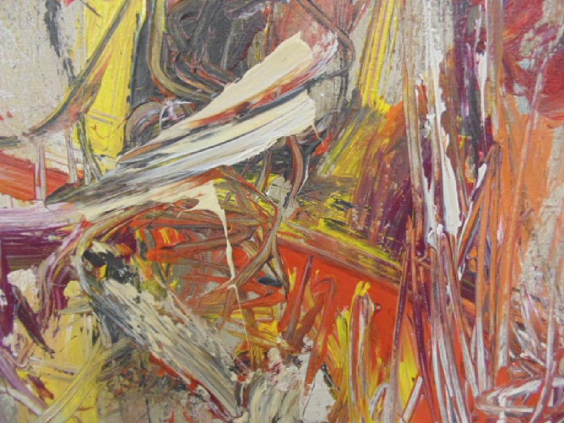Painting, abstract in colors, signed Gino Hollander - 5