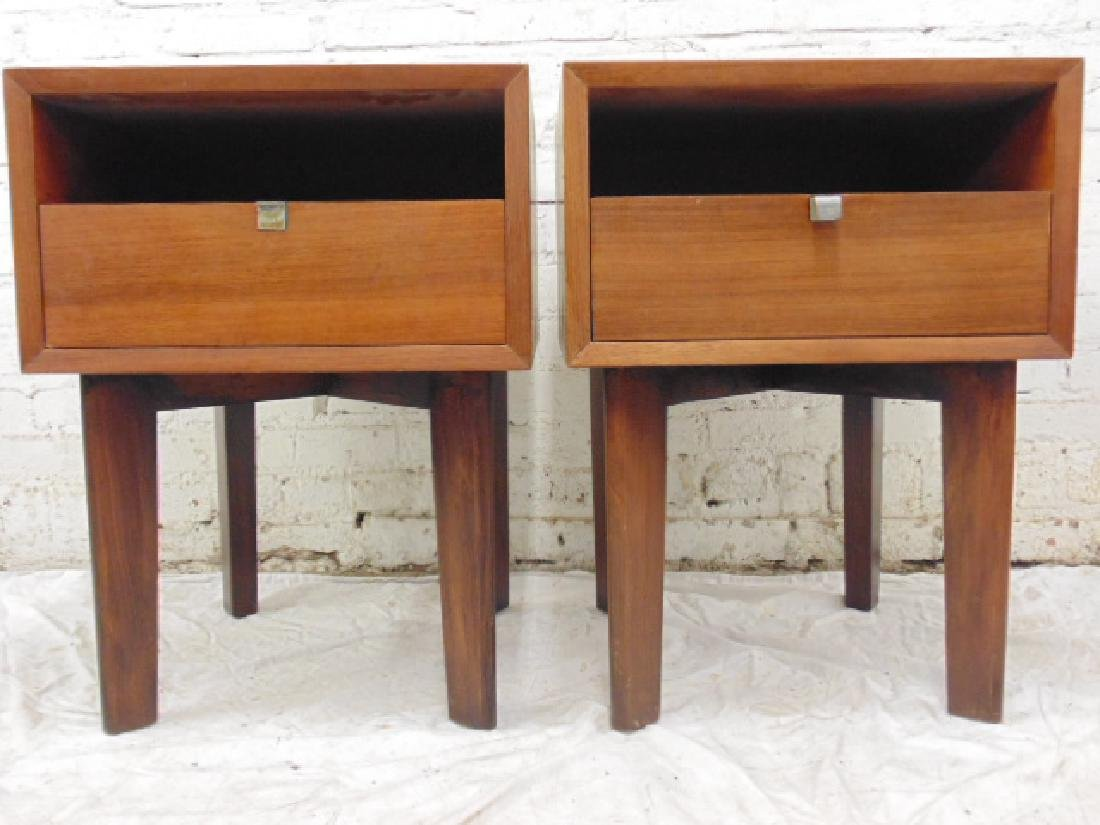 Pair George Nelson for Herman Miller night stands