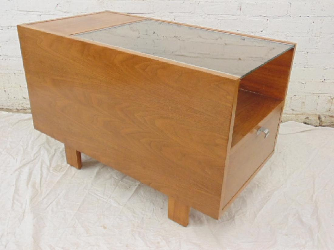 George Nelson for Herman Miller glass top table