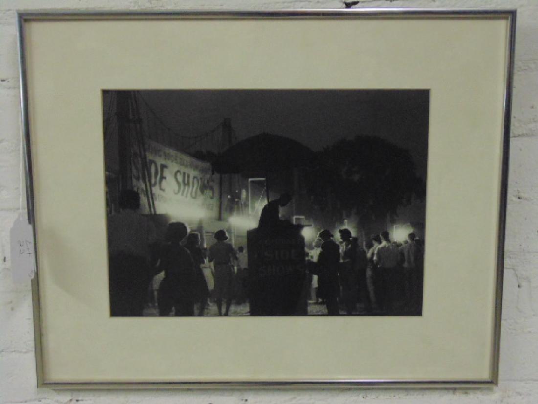 Harold Roth Photograph Ringling Brothers Circus 1945