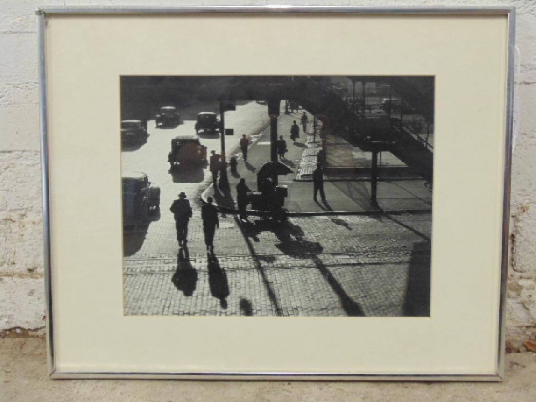 Harold Roth Photograph New York Street Scene