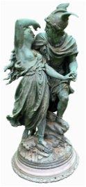 Jean-Louis Gregoire Bronze Sculpture Perseus