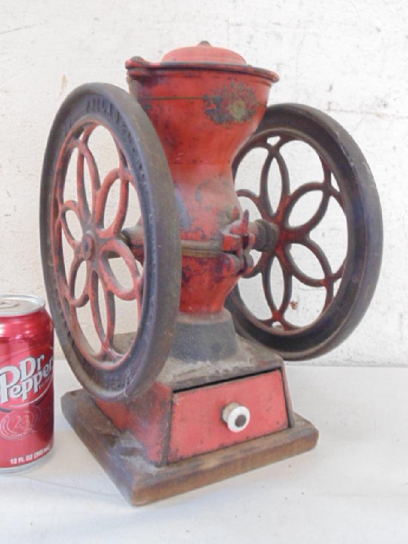 Enterprise coffee grinder, original paint
