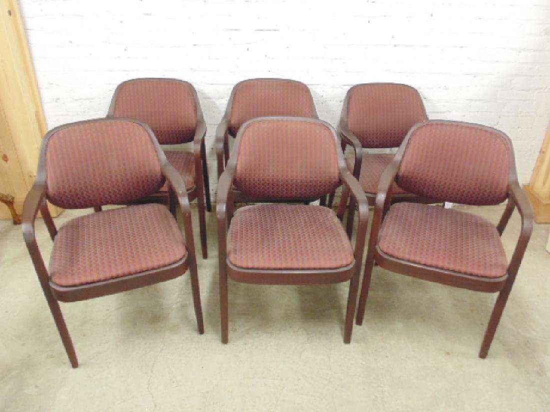 Set 6 armchairs by Knoll International
