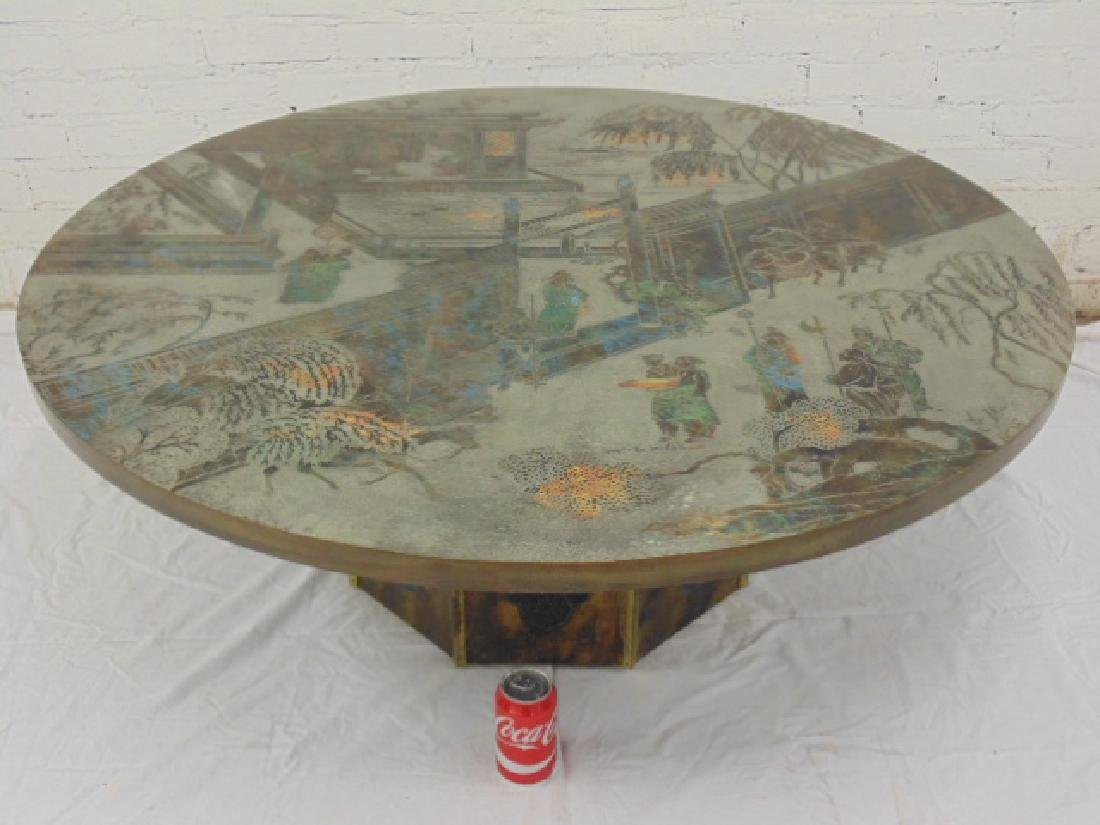 """Philip and Kelvin Laverne round """"Chan"""" coffee table"""