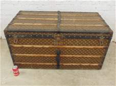 Louis Vuitton trunk, iron handles