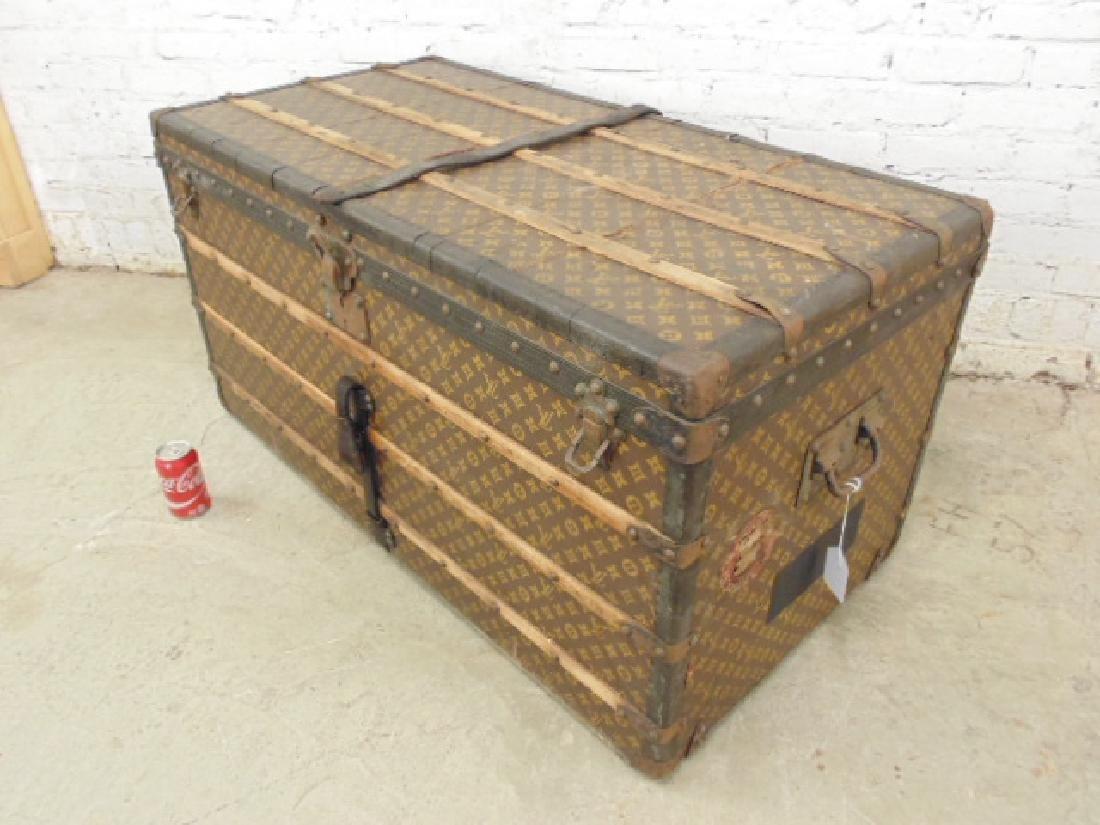 Louis Vuitton trunk, iron handles - 2