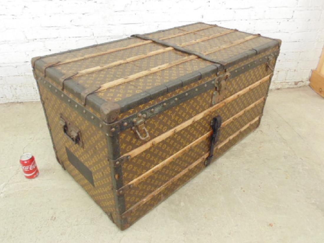 Louis Vuitton trunk, iron handles - 3