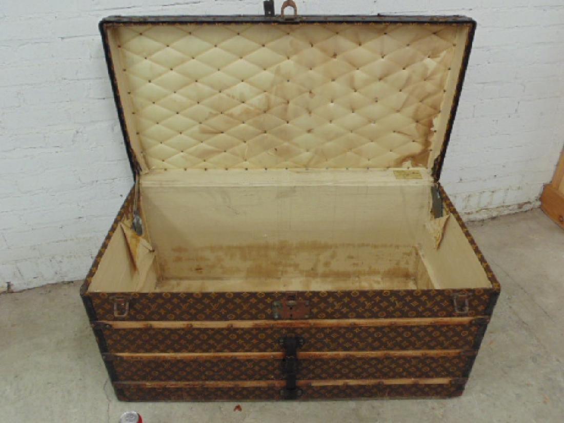 Louis Vuitton trunk, iron handles - 5