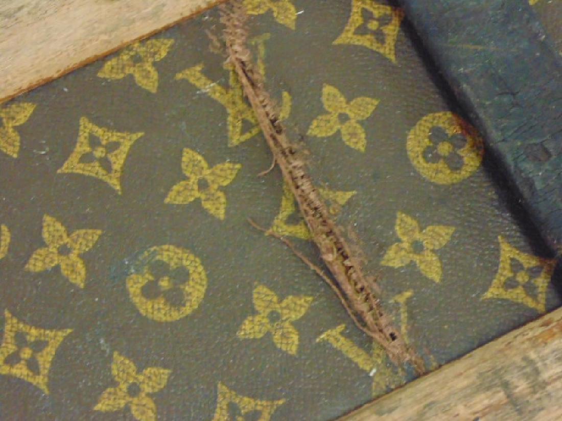 Louis Vuitton trunk, iron handles - 8