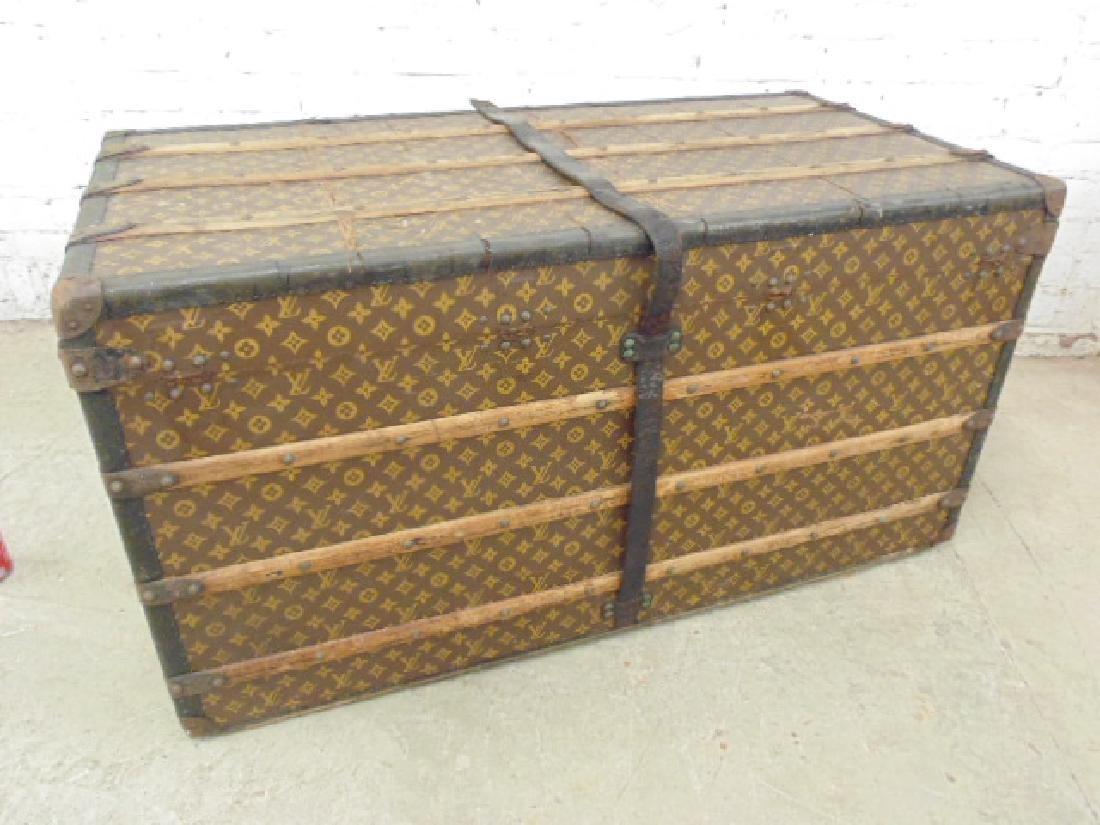 Louis Vuitton trunk, iron handles - 9