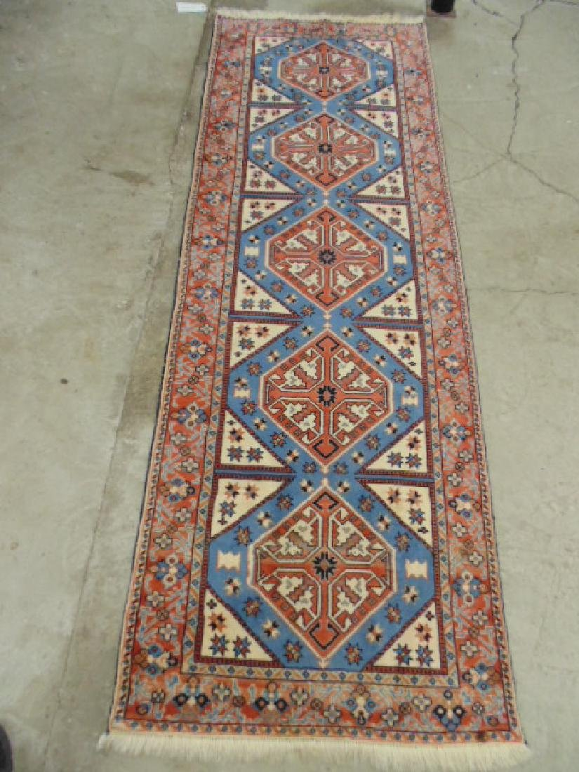 "Persian runner, rug, carpet, 102"" long & 35"""