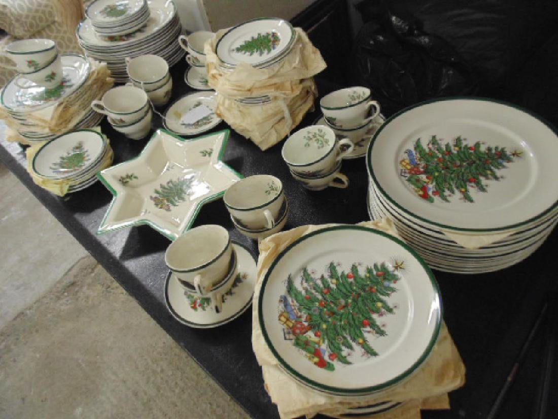 Christmas dinnerware, Lord Nelson for Cuthbertson House - 2